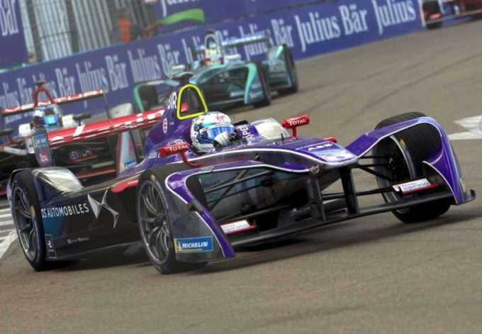 Formula E DS Virgin Racing si prepara all'E-Prix di Roma