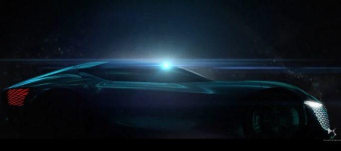 DS X E-Tense, il nuovo concept che ci proietta nel 2035 [VIDEO TEASER]