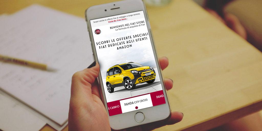 Fiat aggiorna lo store su Amazon