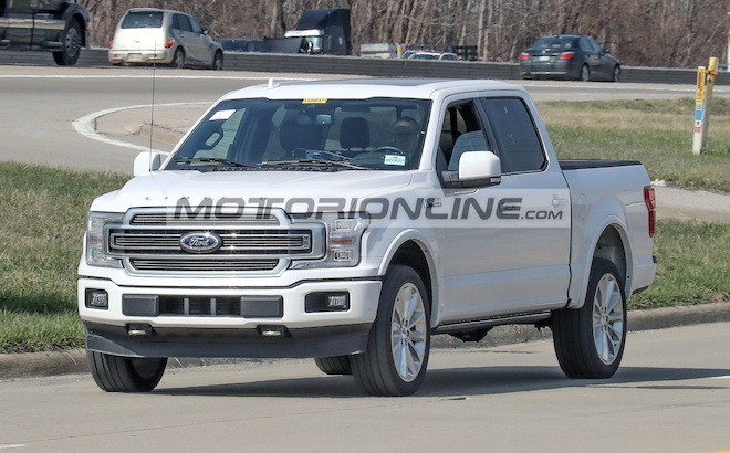 Ford F150 Limited 2019 - foto spia 23-4-2018