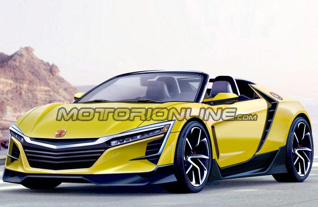 Honda S2000: nuova proposta stilistica di una versione moderna della roadster [RENDERING]