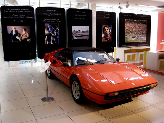 In Vendita all'Asta la Ferrari 308gts dei Record di Villeneuve!