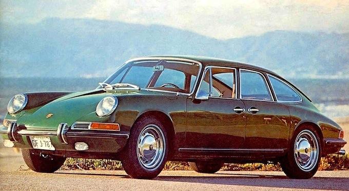 Porsche 911S Troutman-Barnes (1967): l'antenata della Panamera