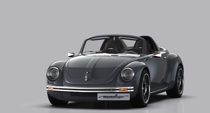 Memminger Roadster 2.7: one off a motore centrale boxer