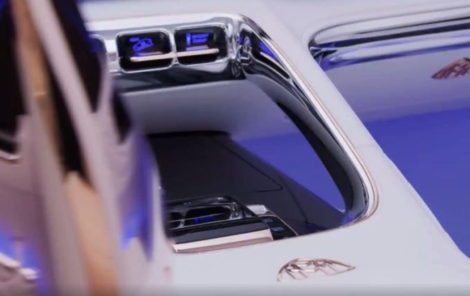 Mercedes-Maybach GLS, concept di SUV di lusso in anteprima a Pechino [VIDEO TEASER]