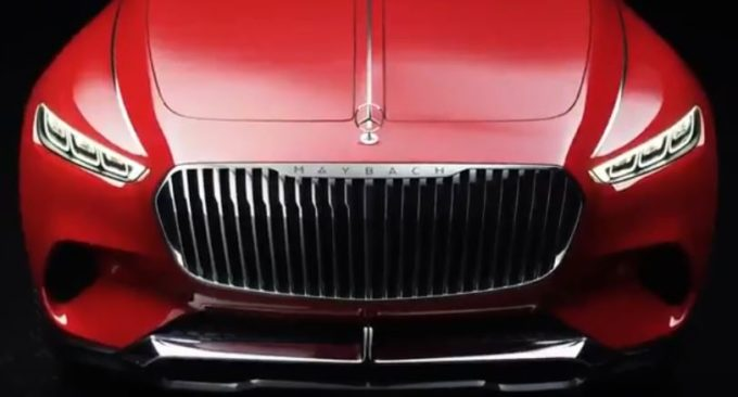 Mercedes-Maybach Ultimate Luxury Concept: VIDEO TEASER