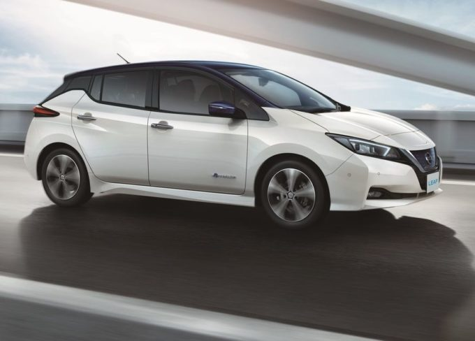 Nuova Nissan Leaf conquista le 5 stelle Euro NCAP [VIDEO]