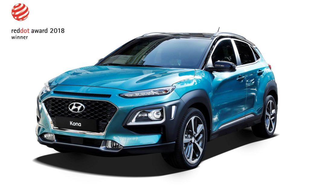 Hyundai, doppio trionfo ai Red Dot Design Awards 2018: premiate Kona e Nexo