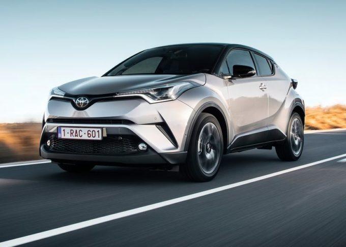 Toyota C-HR Hybrid: bonus di 4.500 euro su qualsiasi usato