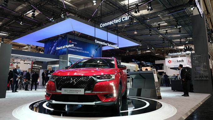 Groupe PSA e Huawei danno vita a DS 7 CROSSBACK, primo veicolo connesso a beneficiare della piattaforma CVMP