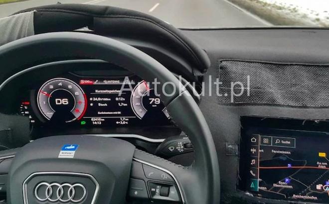 Audi Q3 2019: le prime FOTO SPIA degli interni