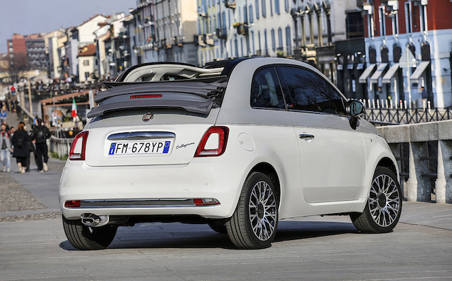 Fiat 500 Collezione: il tour europeo parte da Milano