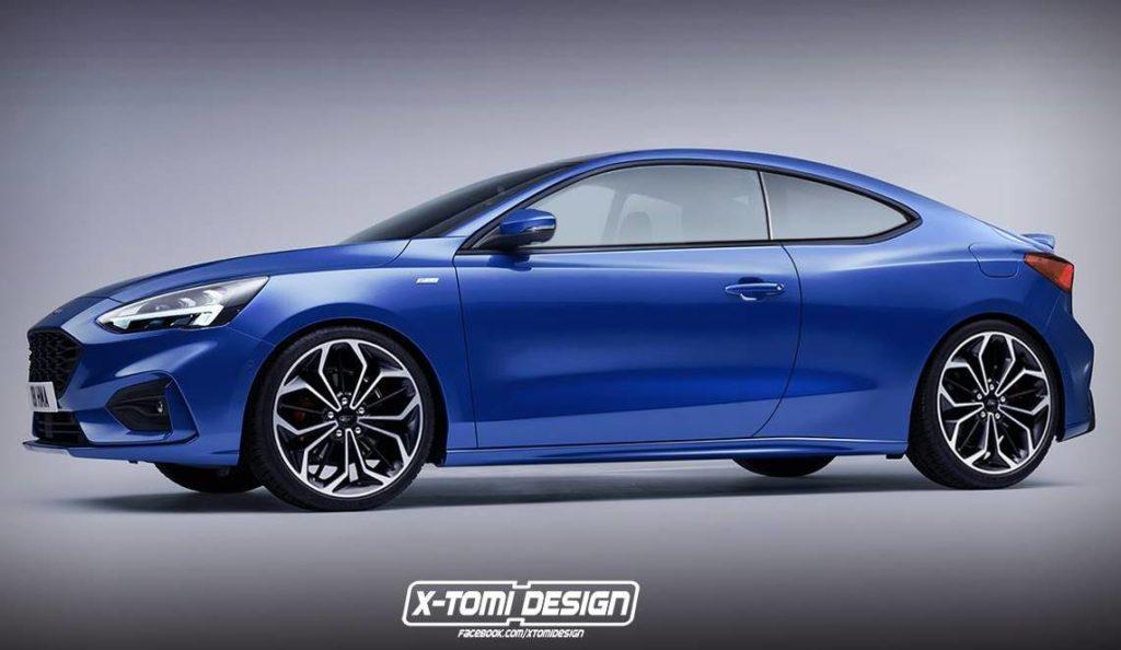 Ford Focus Coupe: l'irresistibile fascino di un elegante sportiva dell'Ovale [RENDERING]