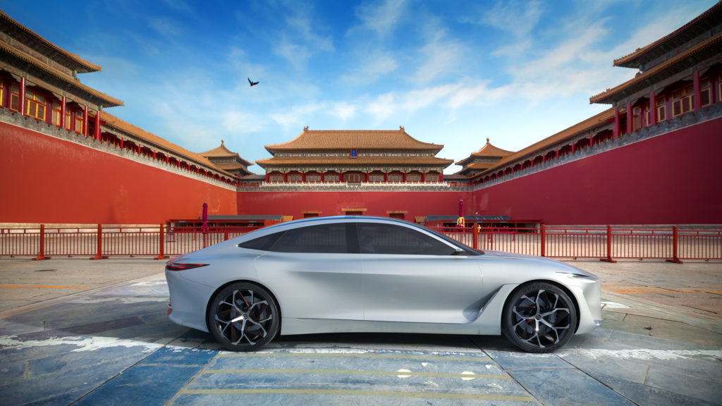 INFINITI: all'orizzonte una nuova piattaforma per veicoli elettrici