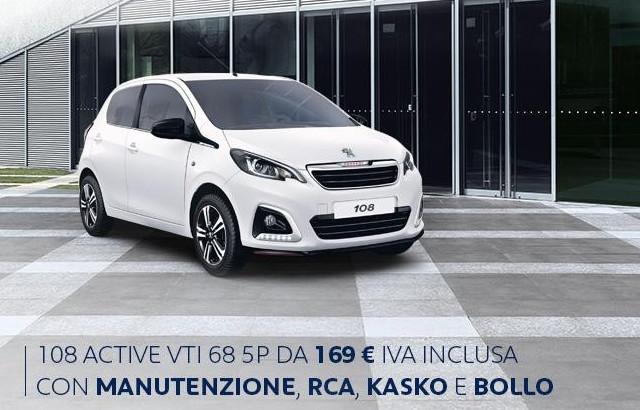Libertà Peugeot: il noleggio a lungo termine del Leone