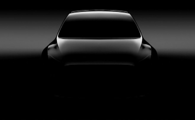 Tesla Model Y: l'inizio della produzione previsto per il 2019