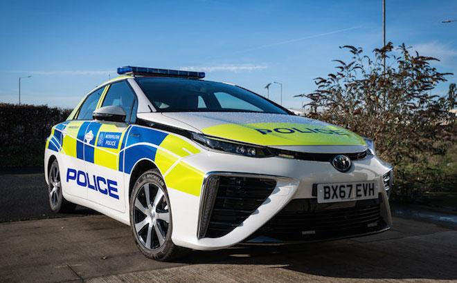 Toyota Mirai: l'auto ad idrogeno per la Polizia di Londra