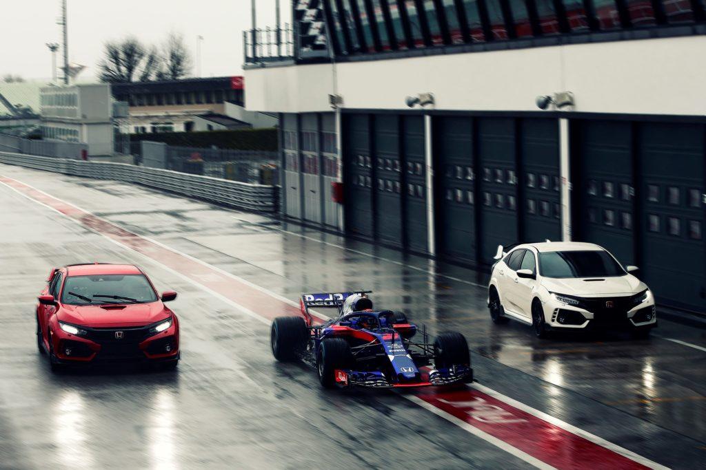 Honda Civic Type R: è la scelta dei piloti della Scuderia Toro Rosso di Formula 1