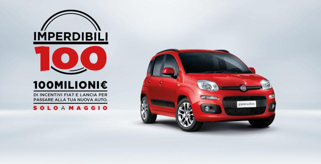 Fiat e Lancia: 100 milioni di euro a disposizione dei nuovi clienti