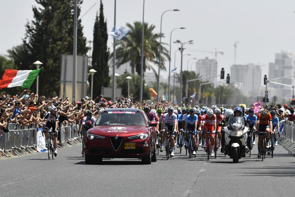 Alfa Romeo corre veloce al Giro d'Italia 2018