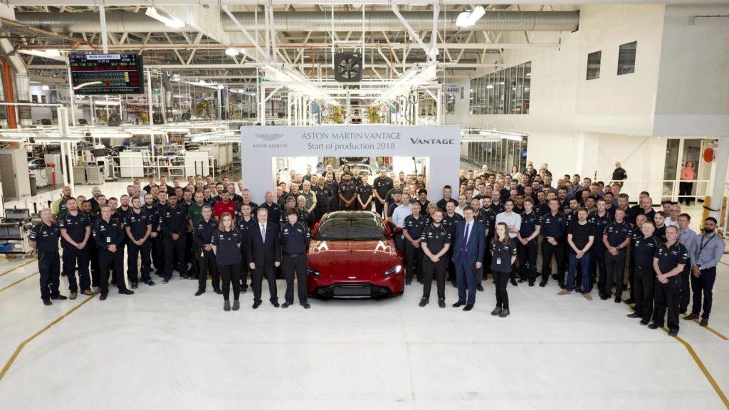 Aston Martin Vantage: il nuovo modello va in produzione