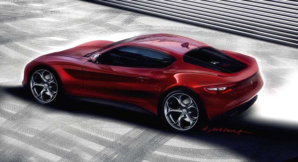 Alfa Romeo: tra le novità della casa una nuova 4C e anche una 6C? [RENDERING]