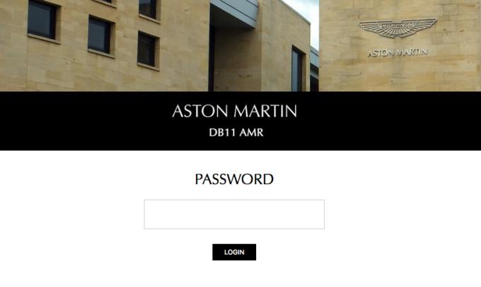 Aston Martin DB11 AMR, novità che arriverà a breve