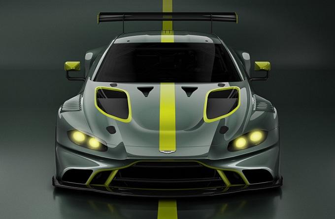 Aston Martin Vantage GT3: prima immagine ufficiale della nuova auto da corsa [TEASER]