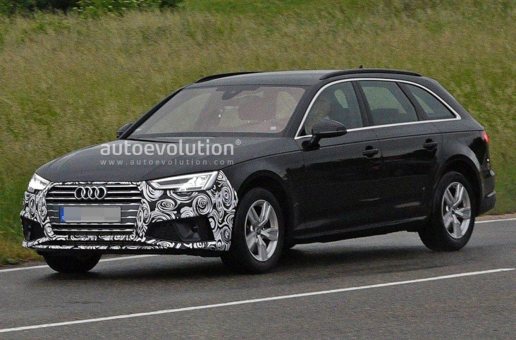 Audi A4 MY 2020: avvistato in strada il facelift