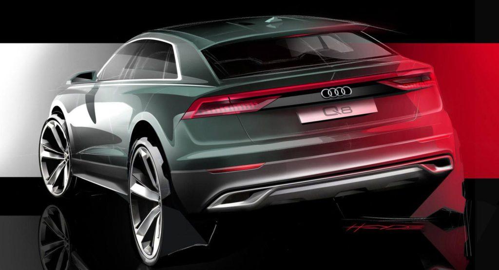 Audi Q8: nuova anticipazione del posteriore [TEASER]