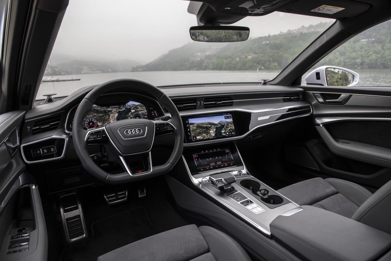 Audi A6 2018 Quasi Una A8 Con Una Reattivit 224 Elettrizzante Test Drive