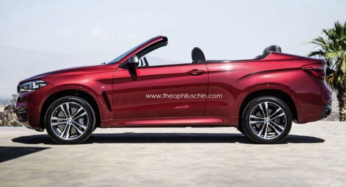BMW sta realmente pensando ad un Suv cabrio? [RENDERING]