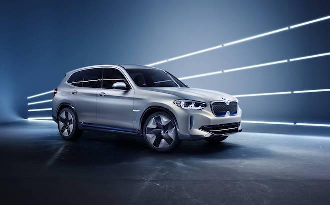 BMW iX3 Concept: il crossover elettrico da 270 CV [VIDEO]