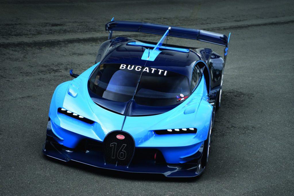 Bugatti Chiron, alle porte una special edition su base Vision GT