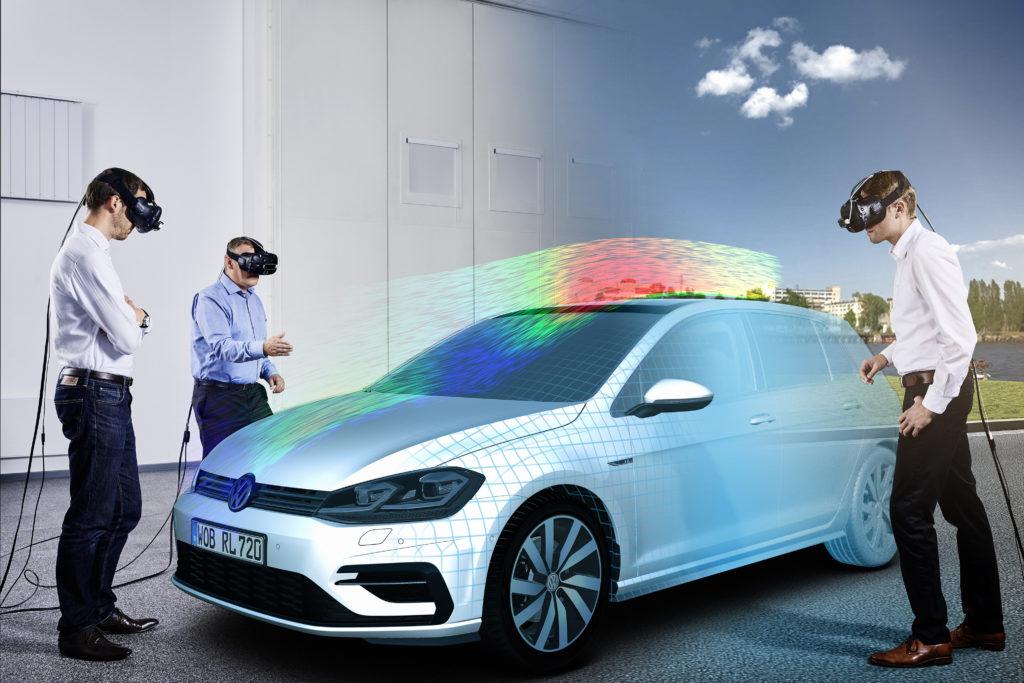 Volkswagen: la realtà virtuale per dar vita ad auto reali