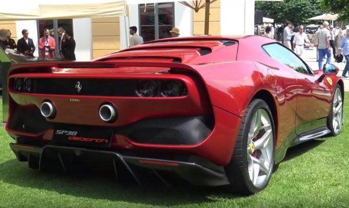 Ferrari SP38 Deborah, la one-off regina indiscussa a Villa d'Este [VIDEO]