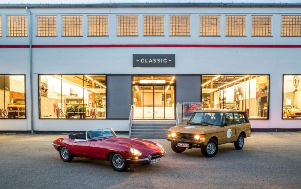 Jaguar Land Rover Classic: nuovo centro di assistenza e vendita in Germania