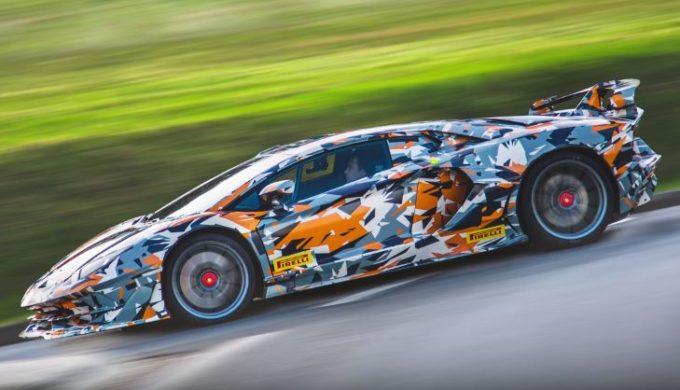 Lamborghini Aventador SV J già in odore di record al Nurburgring [VIDEO]