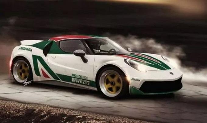 Lancia Stratos: l'idea di una nuova generazione su base Alfa Romeo 4C [RENDERING]