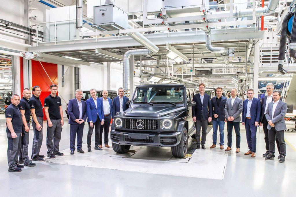 Mercedes Classe G: iniziata la produzione del nuovo modello