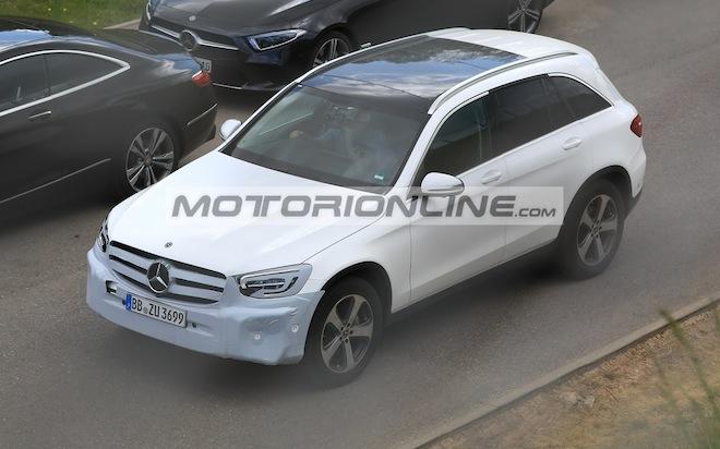 Mercedes GLC facelift - Foto spia 2-5-2018