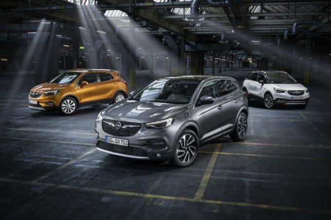 Opel, la gamma SUV è in promozione a maggio a tasso zero