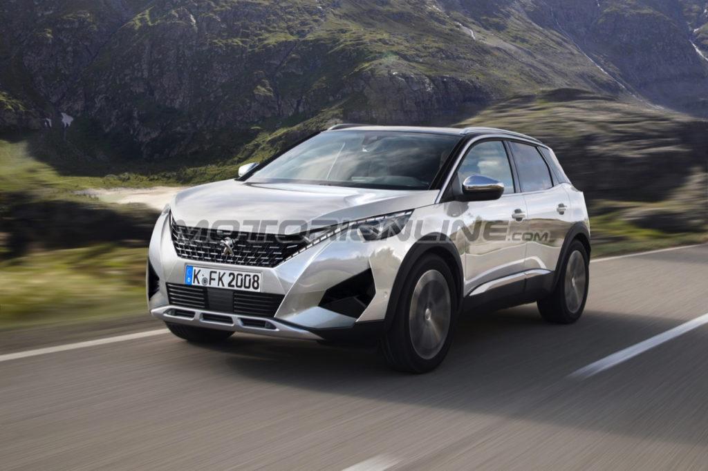 Peugeot 2008: un'ipotesi di come potrebbe essere la prossima generazione [RENDERING]