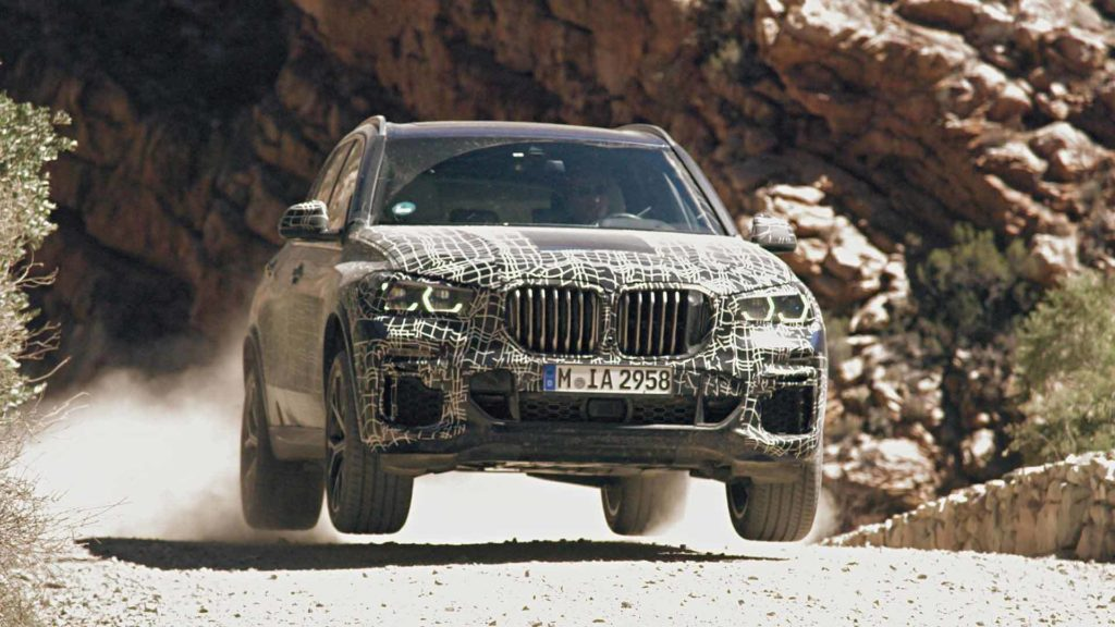 BMW X5 MY 2019 - Test