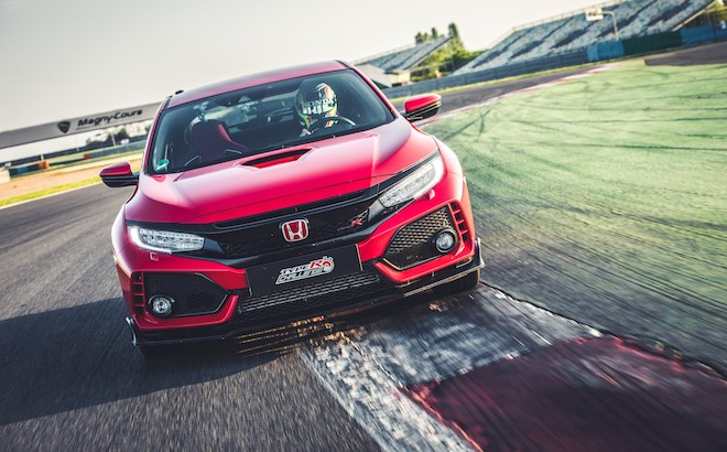 Honda Civic Type R: nuovo record sul giro a Magny-Cours