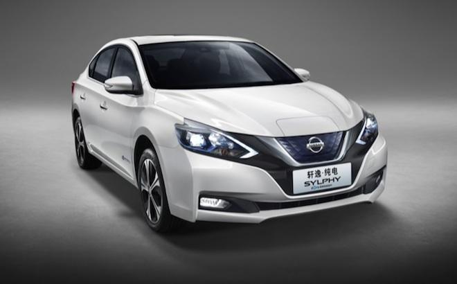Nissan Sylphy Zero Emission: l'elettrica per il mercato cinese