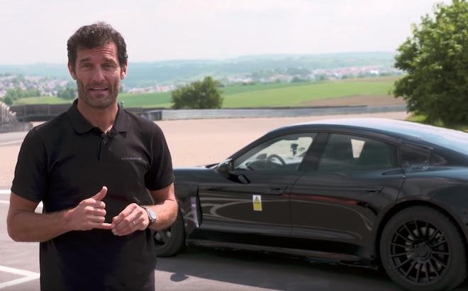 Porsche Mission E: al volante c'è Mark Webber [VIDEO]