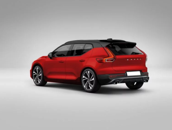 volvo v40 la nuova compatta sar cos rendering. Black Bedroom Furniture Sets. Home Design Ideas