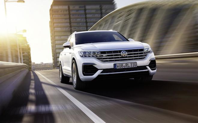Volkswagen Touareg: le quattro ruote sterzanti