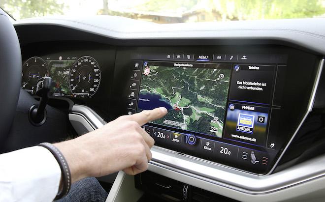 Volkswagen Touareg: l'Innovision Cockpit anticipa il futuro